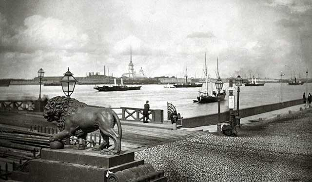 Дворцовая набережная,1880
