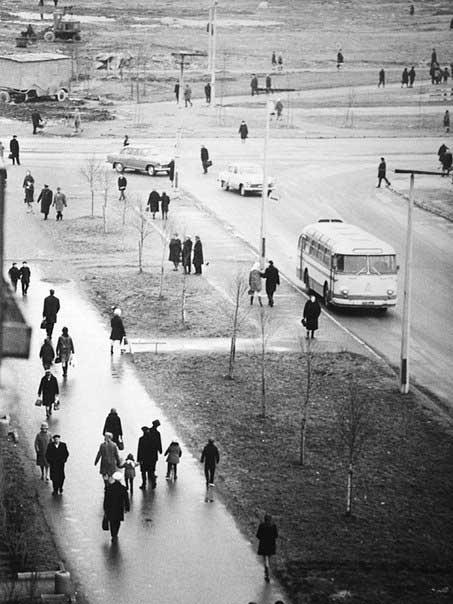 Улица Софьи Ковалевской/Проспект Науки, 1966 г