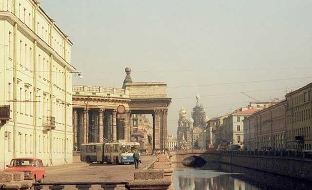 Канал Грибоедова, 1991 год