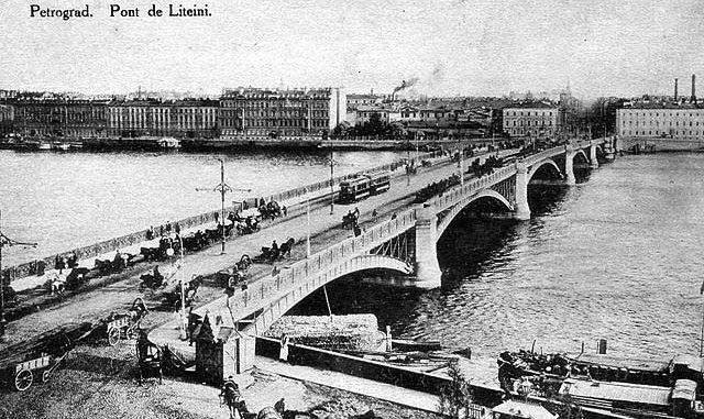 История литейного моста