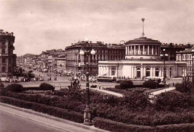 1958 год Площадь Восстания