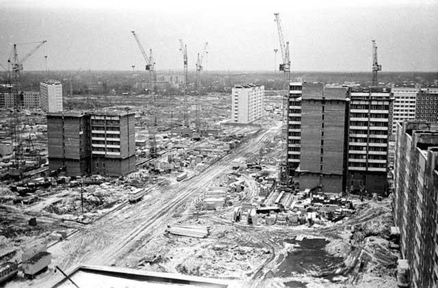 Будущий проспект Ударников, 1979 г