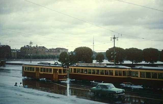 Пушкинская (Биржевая) площадь, 1967 г