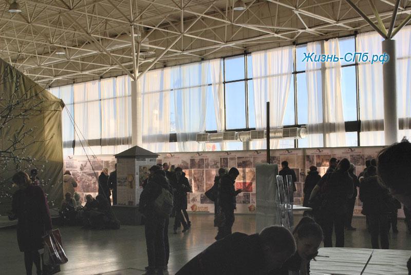 Интерактивная выставка в Ленэжкспо Битва за Берлин, Санкт-Петербург