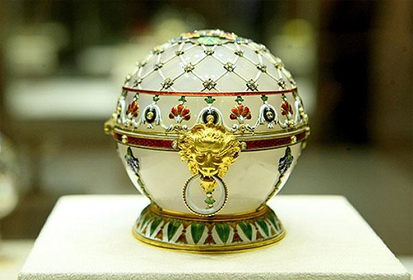 Коллекции музея Фаберже в Санкт-Петербурге