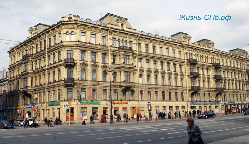 Аренда офиса 81 8 кв м, Караванная ул, дом 1, г Санкт