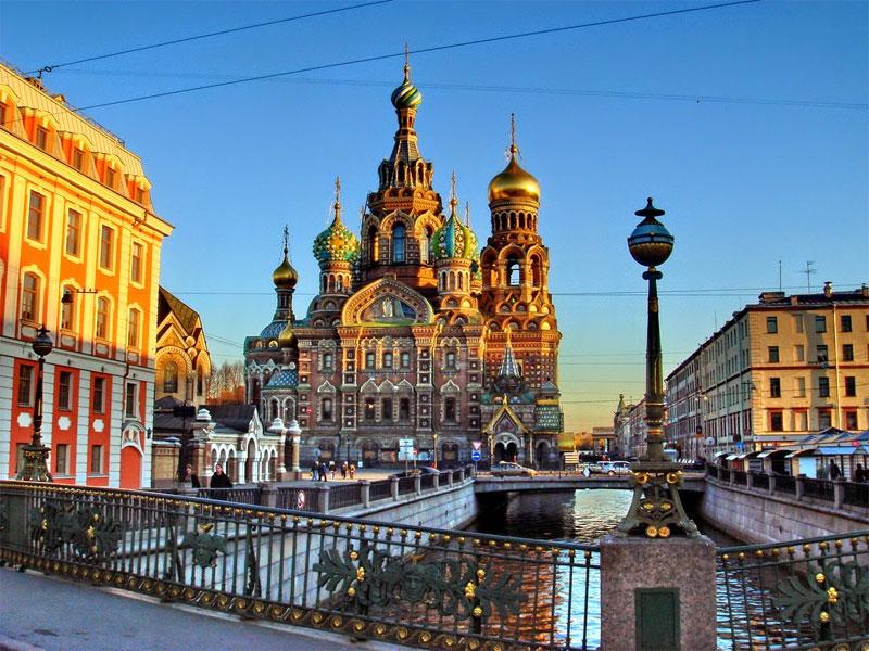 Обзорная автобусная экскурсия по Петербургу
