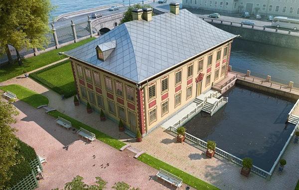 Императорские дворцы Санкт-Петербурга - Летний дворец Петра