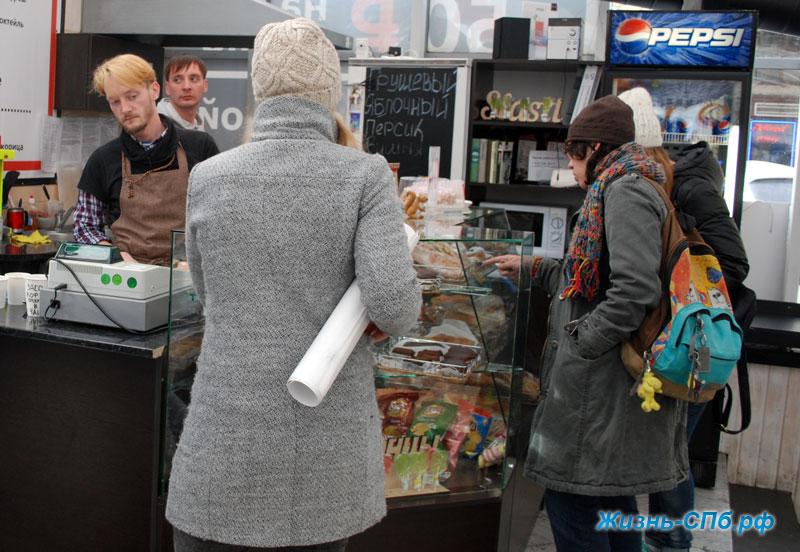 Кафе в центре Петербурга
