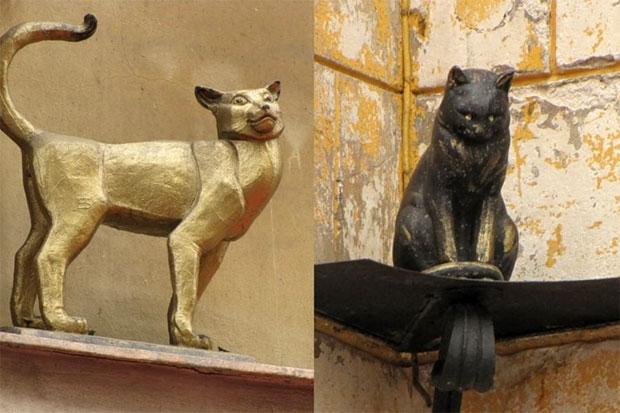 Памятники котам и кошкам в Петербурге