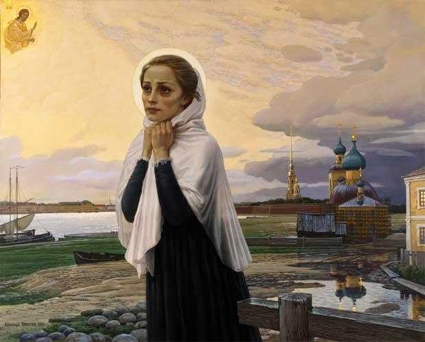 Святая блаженная Ксения Петербуржская