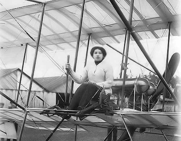 Лидия Зверева - первая женщина-авиатор