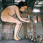 Инсталляция Александра Шишкина-Хокусая «Практики взросления» в музее уличного искусства Петербурга
