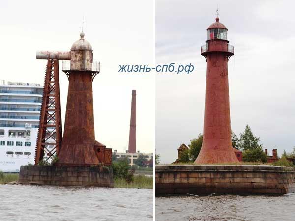 Кронштадские створные маяки