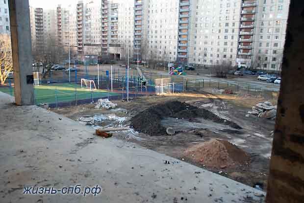 Стройка детского сада