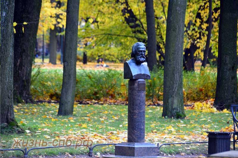 Золотая осень в Михайловском саду