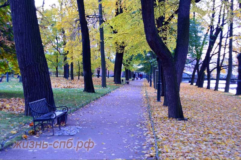 Осенний парк в Петербурге