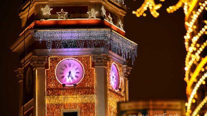 Новогодний Санкт-Петербург