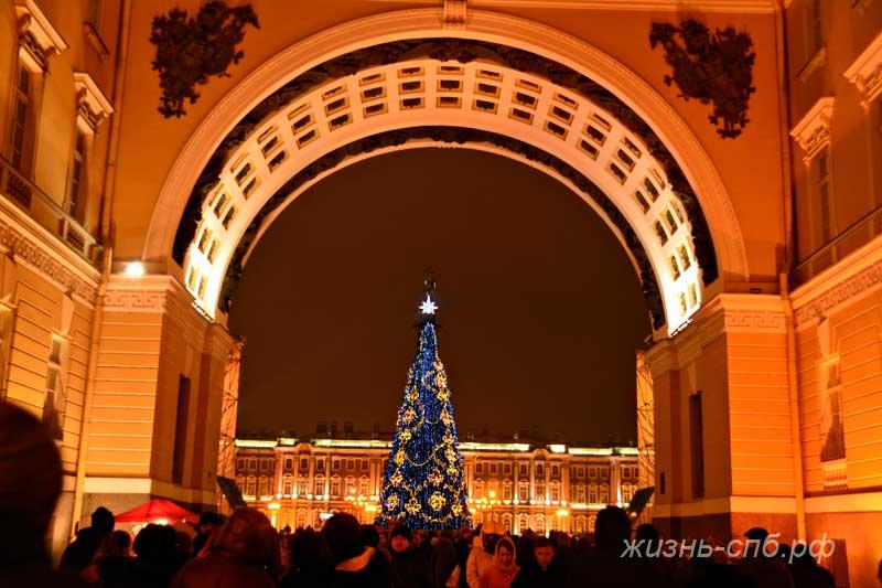 Арка Генерального штаба в Петербурге