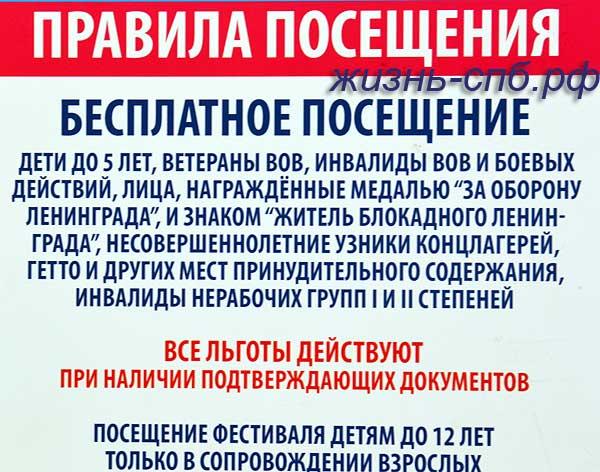 Правила посещения фестиваля ледовых скульптур в СПб