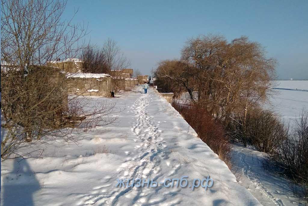 Форт Тотлебен - прогулка по историческим местам