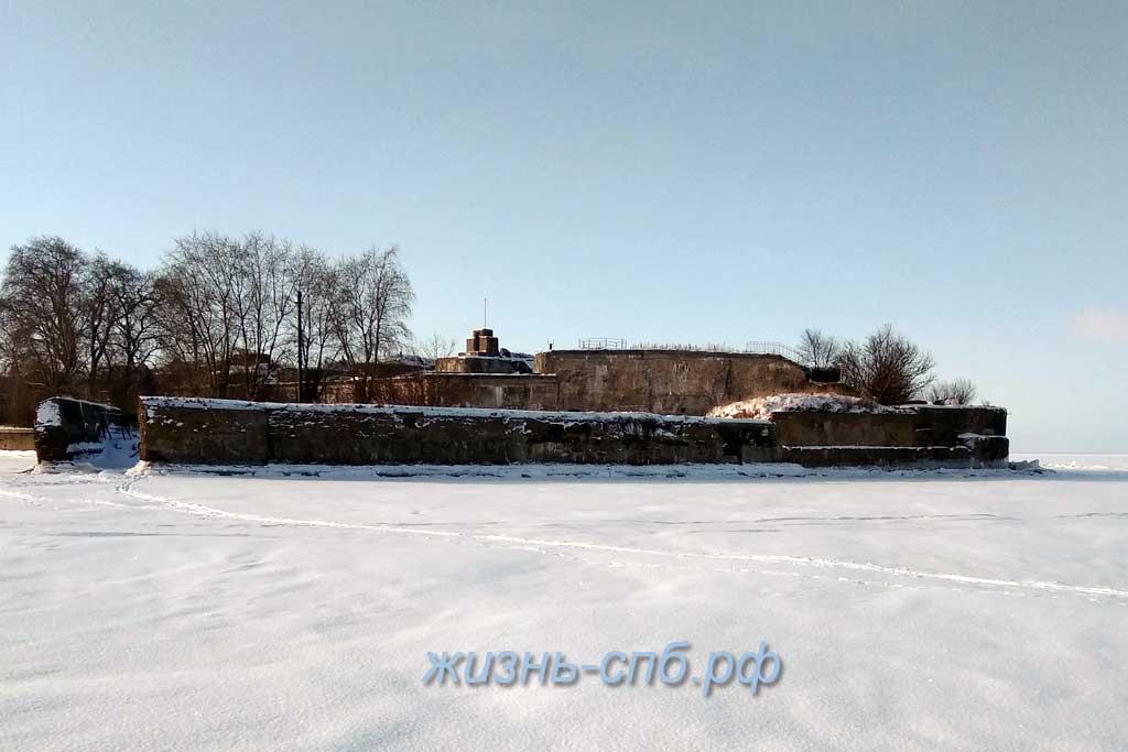 Форт Тотлебен - зимняя прогулка