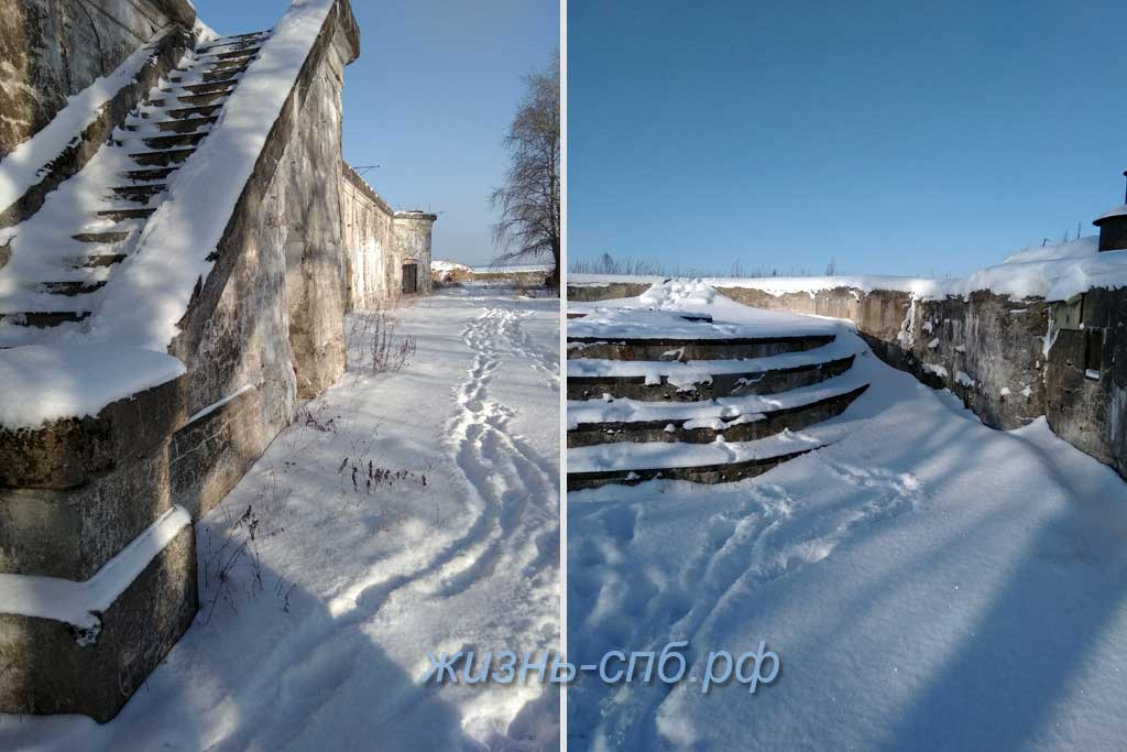 Форт Тотлебен - история Петербурга