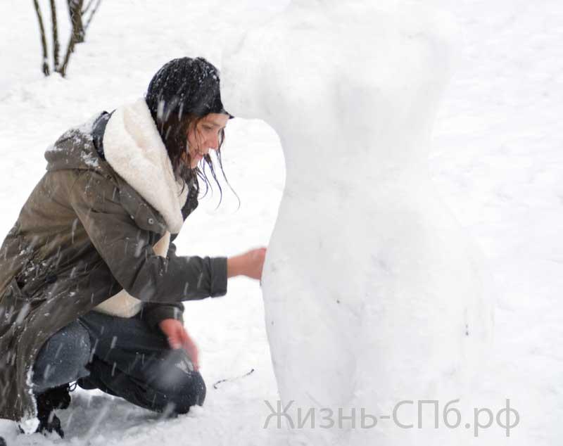 Ваятели из снега