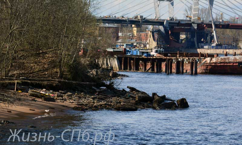 Река Смоленка. Исток.