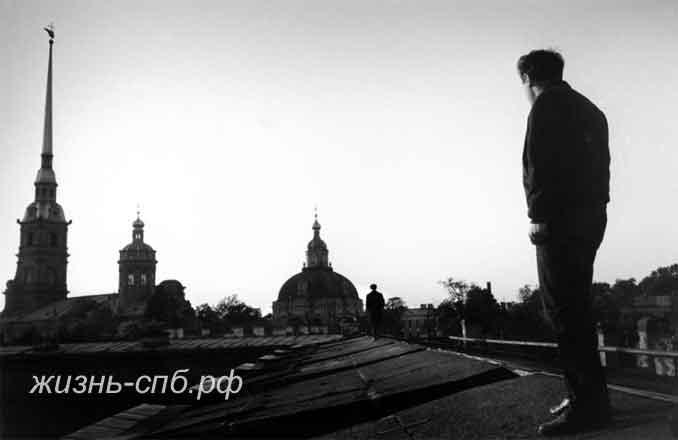 Крыши Петербурга - магия города в стихах