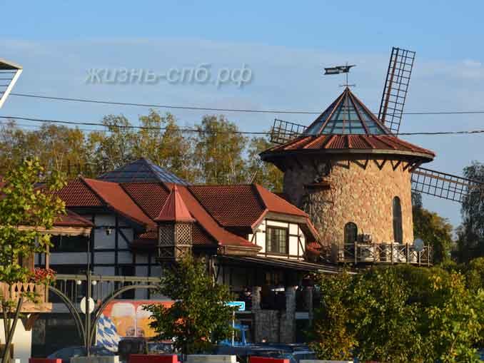 Ресторан на Крестовском острове