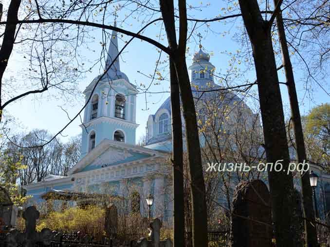 Церковь, посвященная иконе Смоленской Божьей Матери