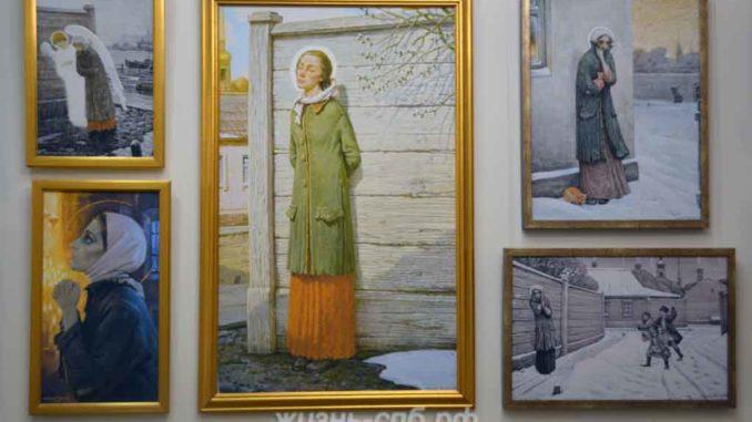 Картины в музее на Камской 2