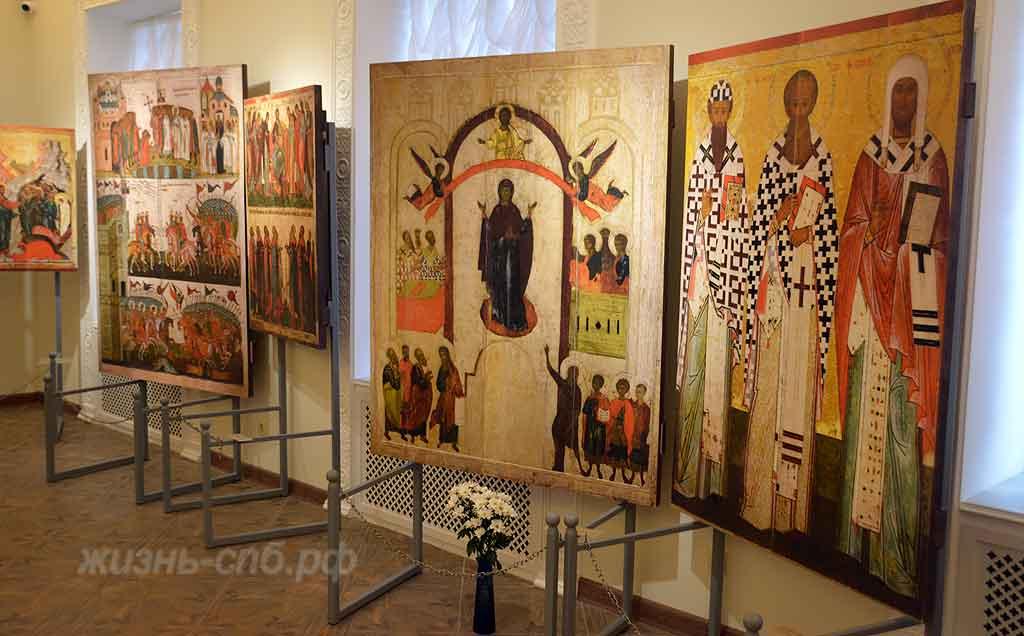 Залы музея Святой Ксении в Петерурге