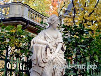 Золотая осень в Летнем саду Петербурга - фотопрогулки по городу