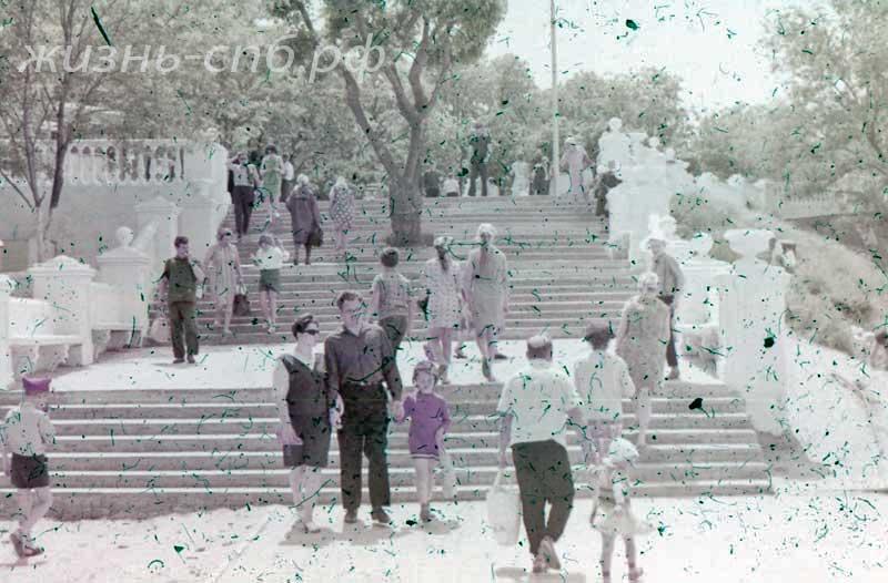 Анапа, Лестница, старые фото