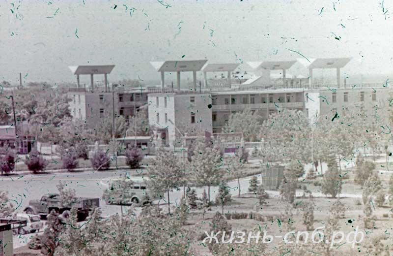 Анапа Пансионат Мотылек в архивных фотографиях