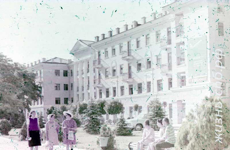 Гостиница в Анапе времен СССР