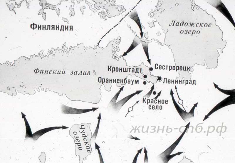 Карта - июль 1941. Старые военные фотографии