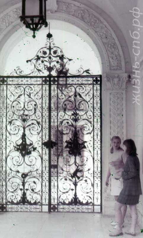 Ливадия. Железные ворота Большого дворца работы уральских мастеров