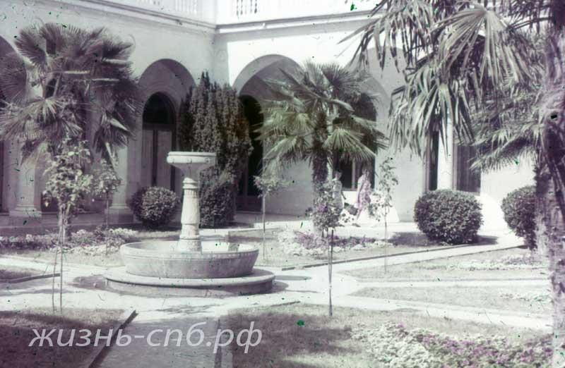 Ливадия. Внутренний (флорентийский) дворик Большого дворца