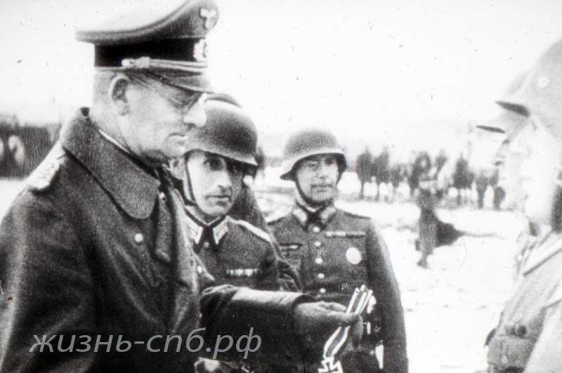 На подступах к Ленинграду. Старые военные фотографии