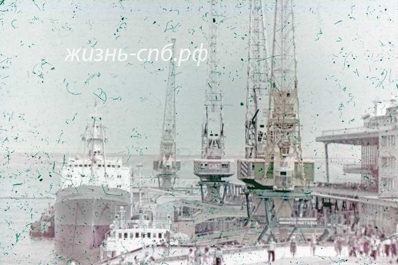 Украинская ССР. Одесса. В морском порту прошлого века