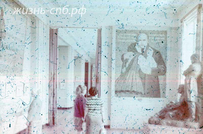 Украинская ССР. Киев. В музее Т. Шевченко - национального украинского поэта.