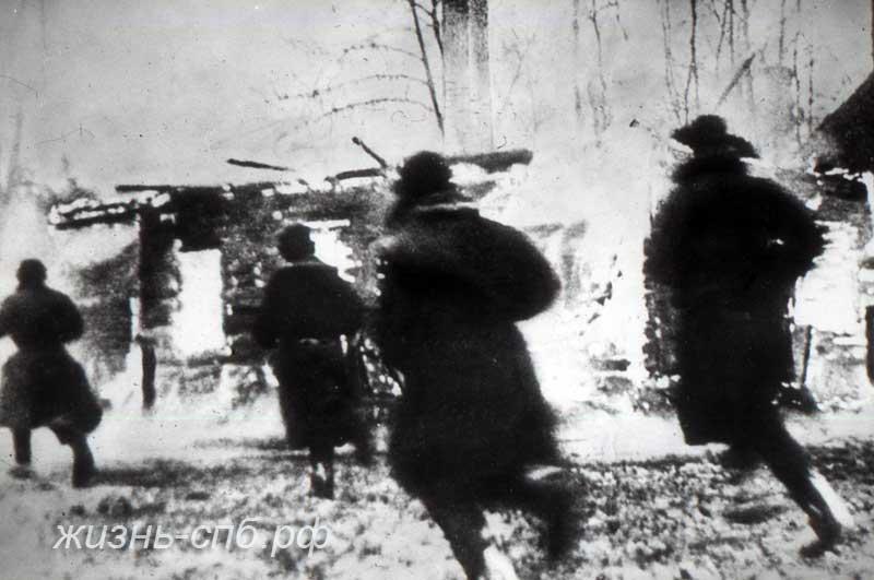 В бой пошла пехота. Архивные военные фотографии обороны Ленинграда
