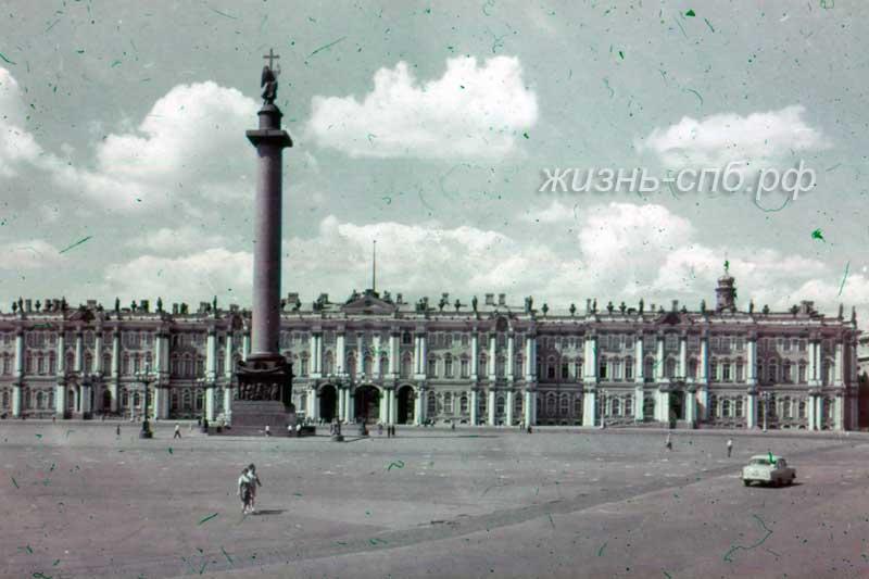 Старый Петербург - Дворцовая площадь, Зодчий Варфоломей Растрелли