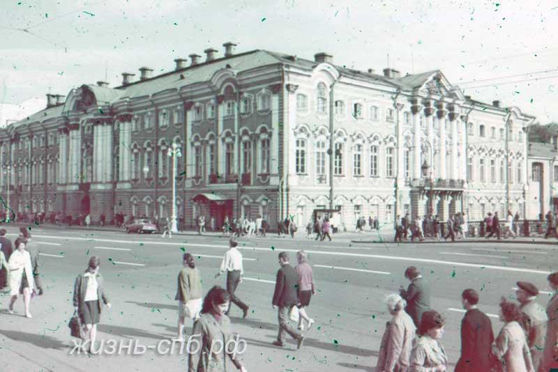 Старый Петербург - Строгановский дворец