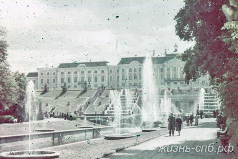 Старый Петербург - Петродворец. Большой Петергофский дворец