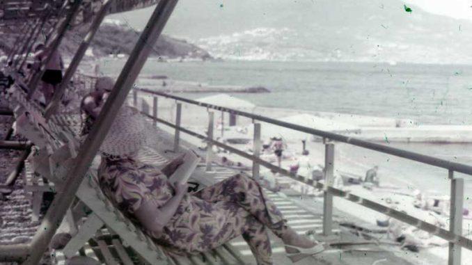 Пляж в Ливадии на фото прошлого века