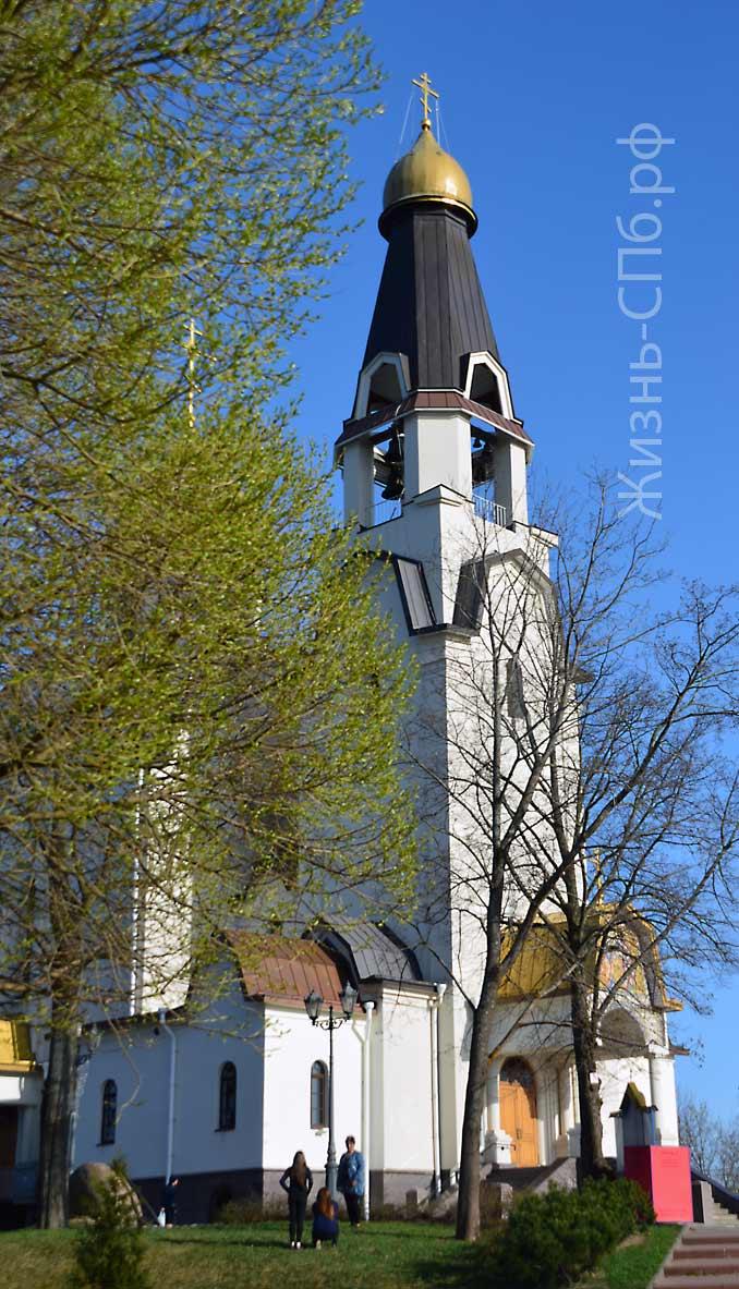 Петропавловская церковь весной 2019